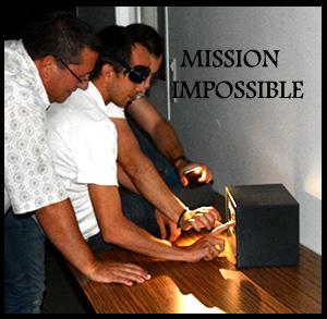 Animation séminaire Lyon Rhone Alpes MISSION IMPOSSIBLE
