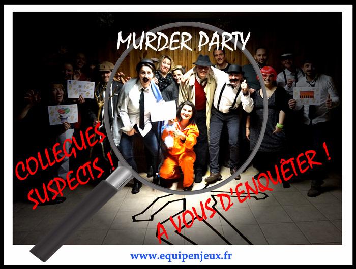 murder party Lyon Rhone-Alpes