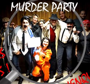 Organisation MURDER PARTY Lyon Rhône Alpes animation jeu d'enquête