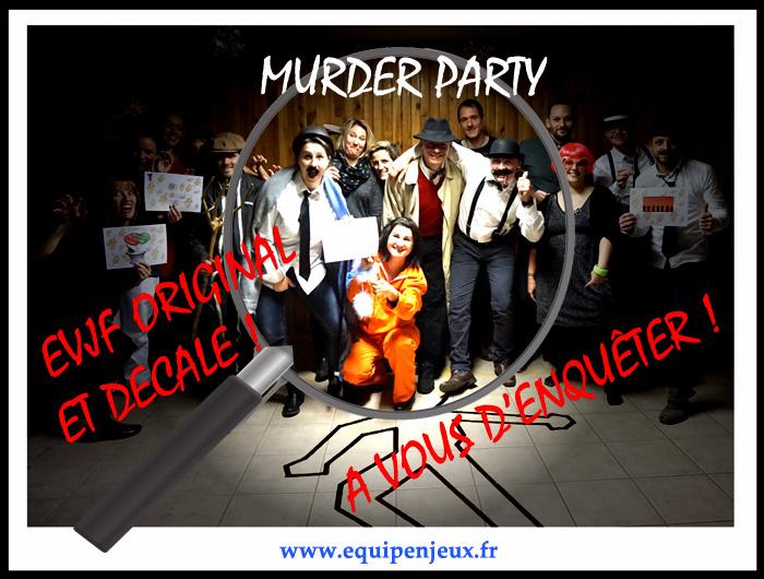 murder party lyon EVJF Rhone-alpes
